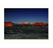 A Morning in God's Country Art Print