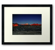 A Morning in God's Country Framed Print