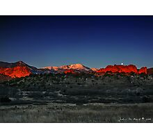 A Morning in God's Country Photographic Print
