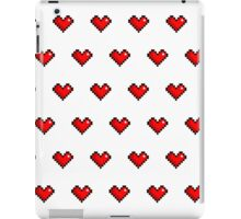 Pixel Heart Pattern iPad Case/Skin