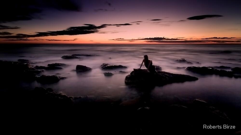 nuages de la mer (iii) by Roberts Birze