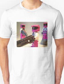 Halo Wars Pink Spartan Soldier, Custom Minifigure Unisex T-Shirt