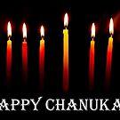 HAPPY CHANUKAH CARD by Heather Friedman