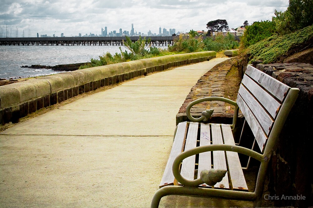 Beach Bench by Chris Annable