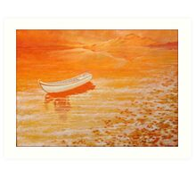 Lake Tranquil. Art Print