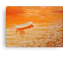 Lake Tranquil. Canvas Print