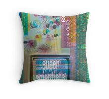 Super Scientists Flyer 23/05/2003 Throw Pillow