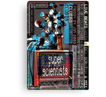 Super Scientists Flyer24/01/2003 Canvas Print