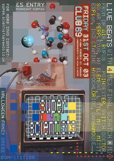 Super Scientists Flyer31/10/2003 by santakaoss