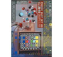 Super Scientists Flyer31/10/2003 Photographic Print
