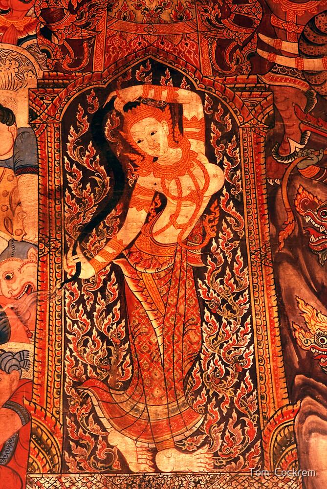 earth goddess by Tom  Cockrem