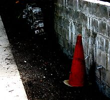 traffic cone by stevesimages