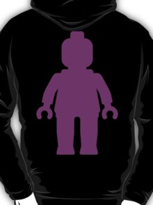Minifig [Large Purple]  T-Shirt