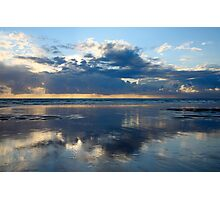 Cloud reflections. Photographic Print