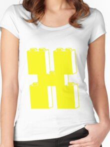 THE LETTER X by Customize My Minifig Women's Fitted Scoop T-Shirt
