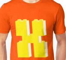 THE LETTER X by Customize My Minifig Unisex T-Shirt