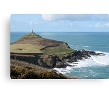 Cape cornwall and the sentinel. Canvas Print