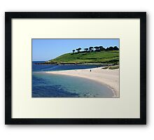 Pelistry beach. Framed Print