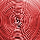 Red swirl. by britishphotos