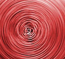Red swirl. by britishphotos