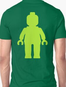 Minifig [Large Lime Green]  Unisex T-Shirt