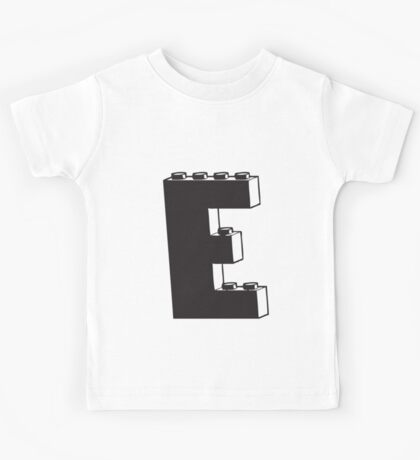 THE LETTER E  Kids Tee