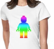 Minifig [Rainbow 1]  Womens Fitted T-Shirt