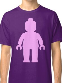 Minifig [Large Light Pink] Classic T-Shirt