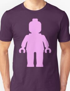 Minifig [Large Light Pink] Unisex T-Shirt
