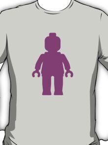Minifig [Dark Pink]  T-Shirt