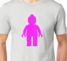 Minifig [Dark Pink]  Unisex T-Shirt