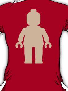 Minifig [Large Flesh Pink] T-Shirt