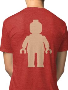 Minifig [Large Flesh Pink] Tri-blend T-Shirt