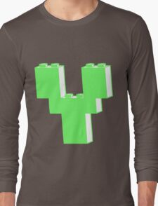THE LETTER Y by Customize My Minifig Long Sleeve T-Shirt