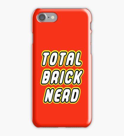TOTAL BRICK NERD iPhone Case/Skin