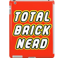 TOTAL BRICK NERD iPad Case/Skin