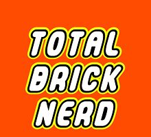 TOTAL BRICK NERD Womens Fitted T-Shirt