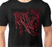 Bloody Scissors Unisex T-Shirt