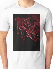 Bloody Scissors Unisex T-Shirt