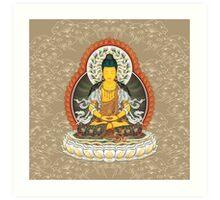 Mahavairocana Sutra Version Art Print