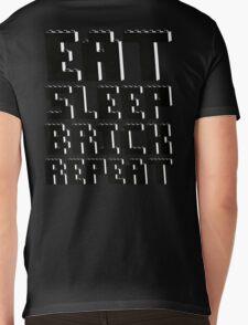 EAT, SLEEP, BRICK, REPEAT Mens V-Neck T-Shirt