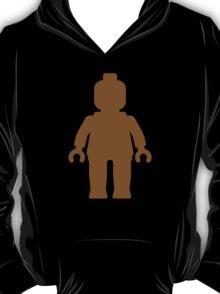 Minifig [Brown]  T-Shirt