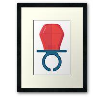 Lolly Ring  Framed Print