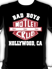 Motley Crue - Bad Boys T-Shirt