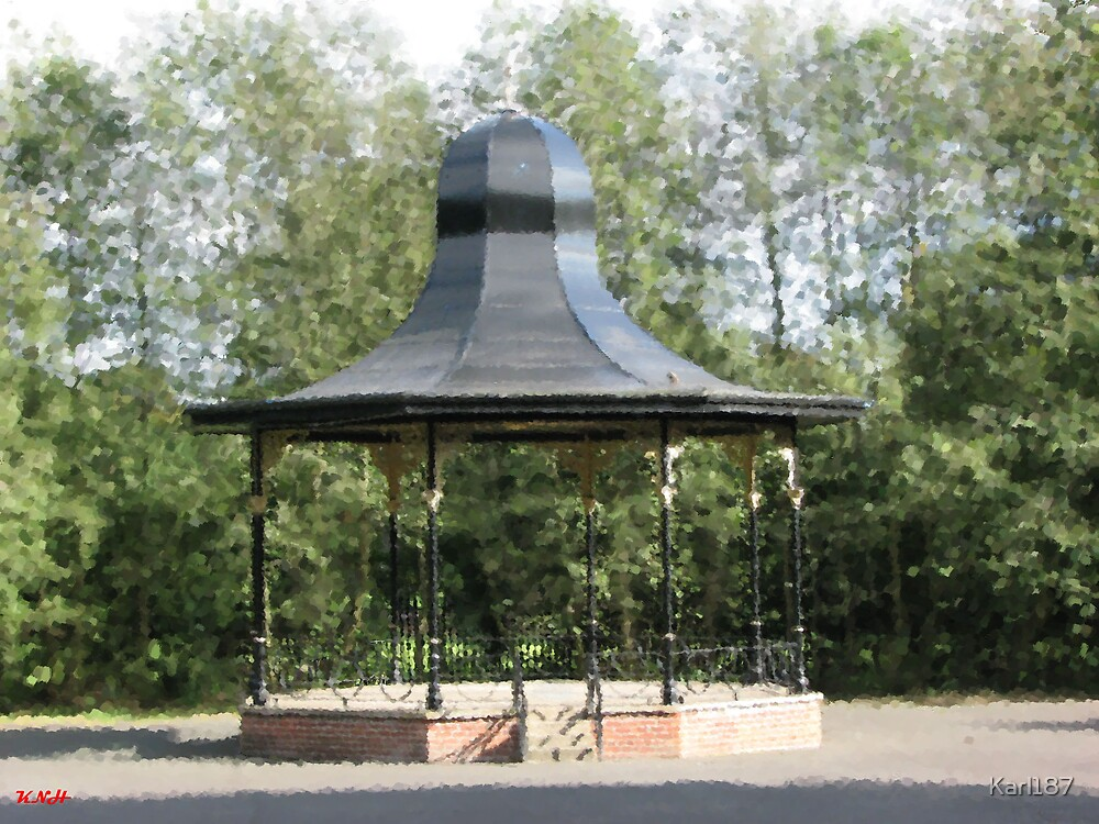 Painted Bandstand by Karl187