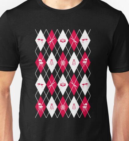 wrestling argyle Unisex T-Shirt