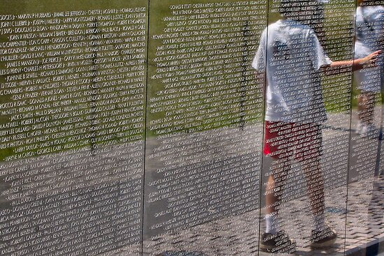 Vietnam War Memorial by Pattiann Malynn
