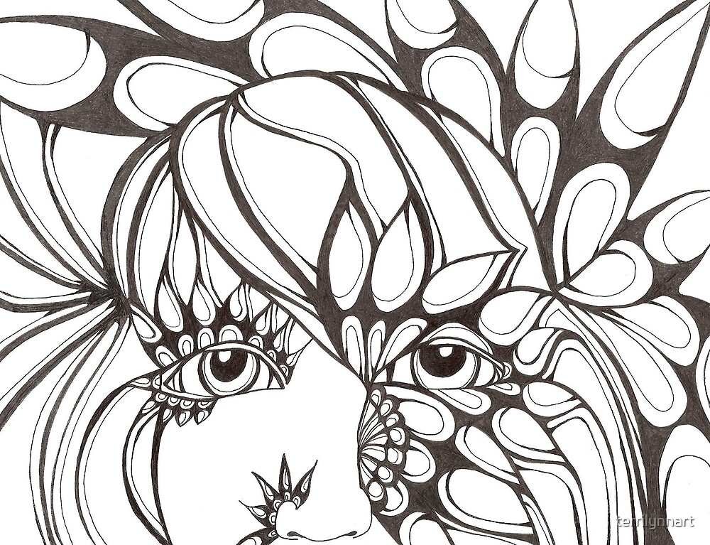 face 25 by terrilynnart