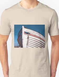 Prow of a wooden boat Unisex T-Shirt