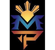 manny pacquiao Pac Man Sun Photographic Print